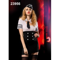 [902]Hostes Kız Kostüm