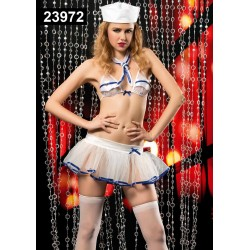[907]Seksi Mini Etekli Tayfa Kız Kostüm