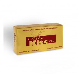 [1137] Silk Kiss Gold Prezervatif