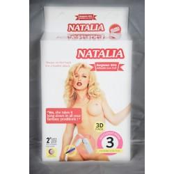 (578)Natalia 3 İşlevli Şişme Bebek
